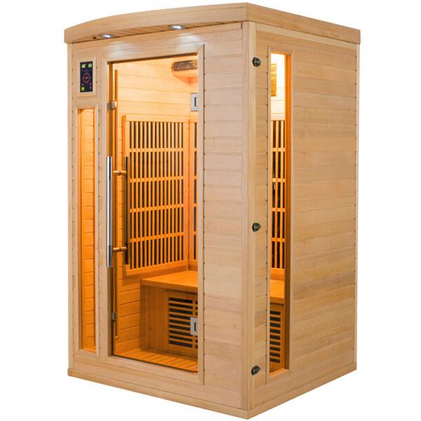 Sauna-Infrarossi.eu  Cabina Infrarossi Dafne 2 Posti - Sauna-Infrarossi.eu