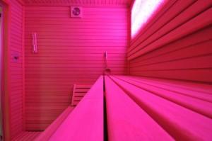 Cromoterapia in sauna infrarossi