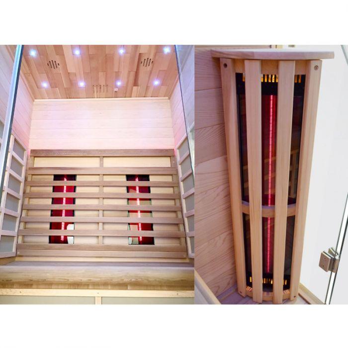 sauna infrarossi dora interni