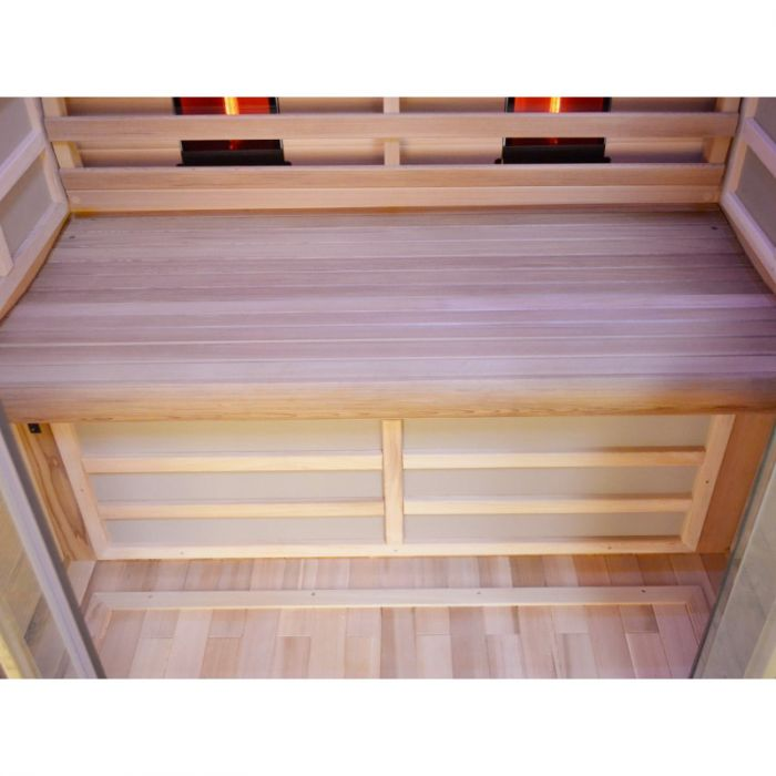 sauna infrarossi dora panca